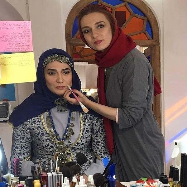 عکس های بازیگر نقش جواهر در سریال بانوی عمارت