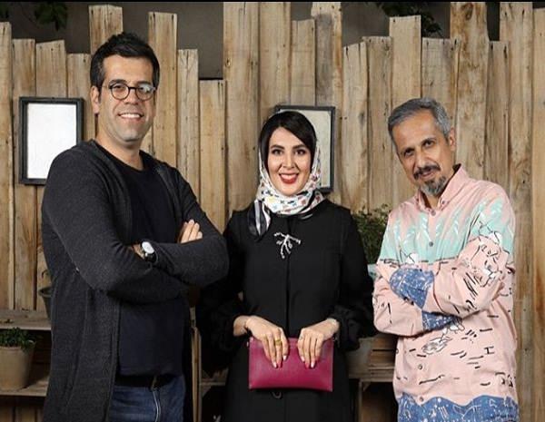 عکس حمیدرضا شعبانی در کنار جواد رضویان و لیلا بلوکات
