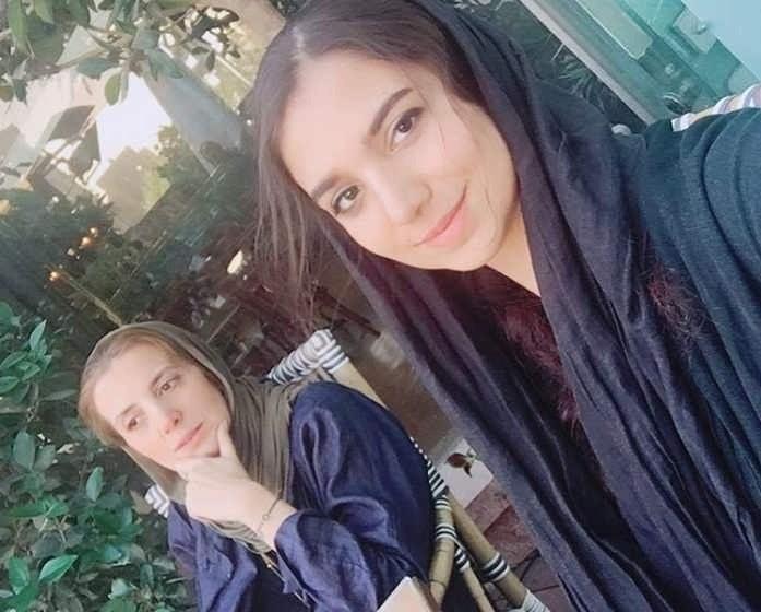 عکس های سارا خادم الشریعه و مادرش