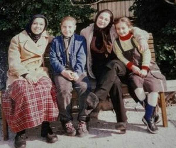عکس های سایان فرخی بازیگر در سریال تلخ و شیرین