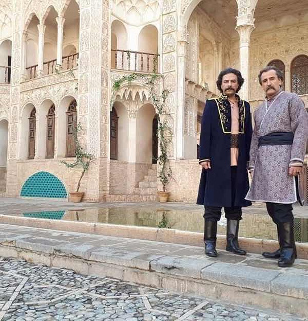 عکس های صالح میرزاآقایی در بانوی عمارت