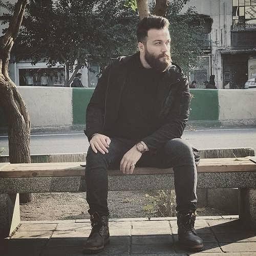 عکس های میلاد میرزایی بازیگر