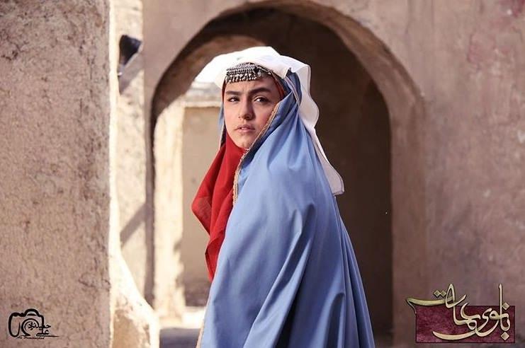 عکس های نیکی نصیریان بازیگر نقش آهو در سریال بانوی عمارت