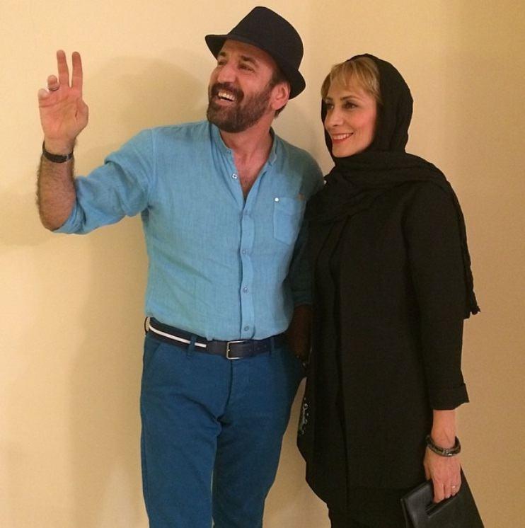 عکس همسر صالح میرزاآقایی هنگامه طالبیان