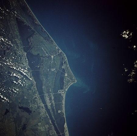 نگاره فضایی از دماغه کاناورال