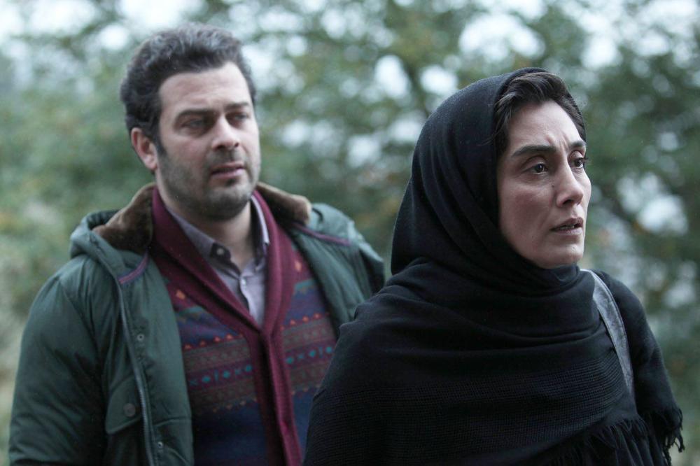 هدیه تهرانی و پژمان بازغی در فیلم اسرافیل