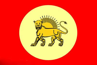 پرچم ایران در زمان قاجار