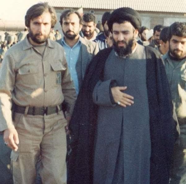 عکس جوانی آیت الله هاشمی شاهرودی رئیس مجمع تشخیص مصلحت نظام
