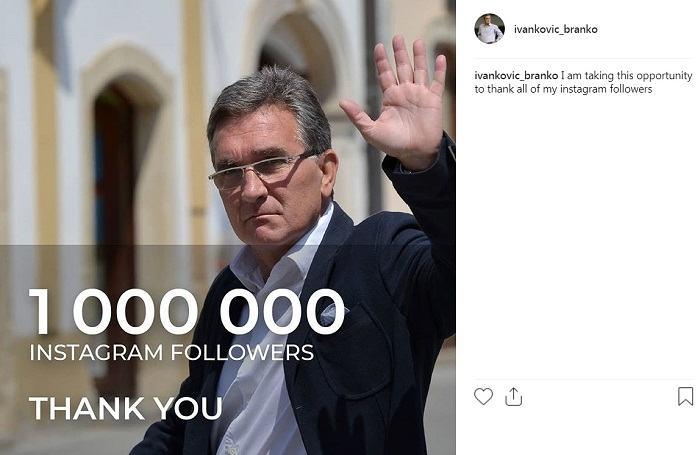 تشکر برانکو از زیاد شدن فالورهایش در اینستاگرام