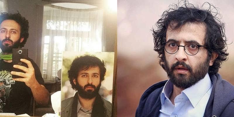 حسام محمودی و بهروز شعیبی در یک قاب