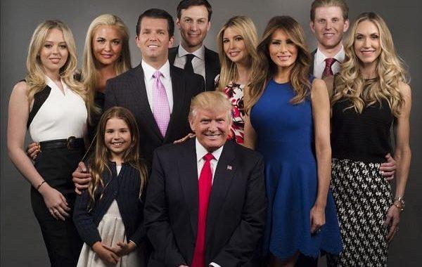 زندگینامه دونالد ترامپ و خانواده اش + عکس