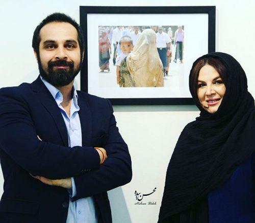 عکس شهره سلطانی و همسرش بهروز پناهنده
