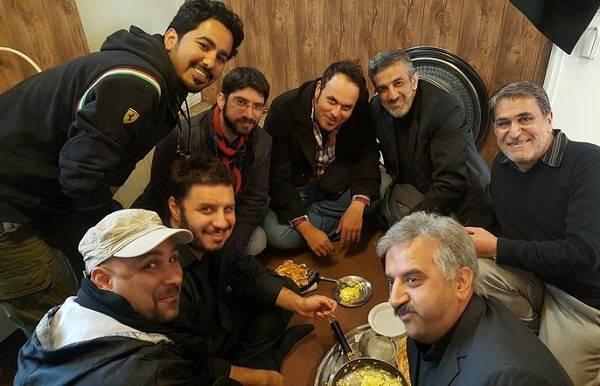 علیرضا استادی در پشت صحنه فیلم سینمایی لاتاری