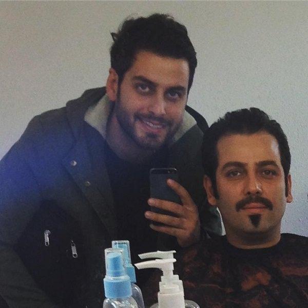 عکس بازیگر نقش محمد علی در سریال آنام