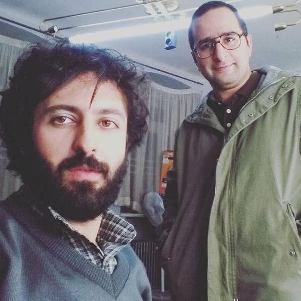 عکس حسام محمودی فرید و ناصر سجادی حسینی