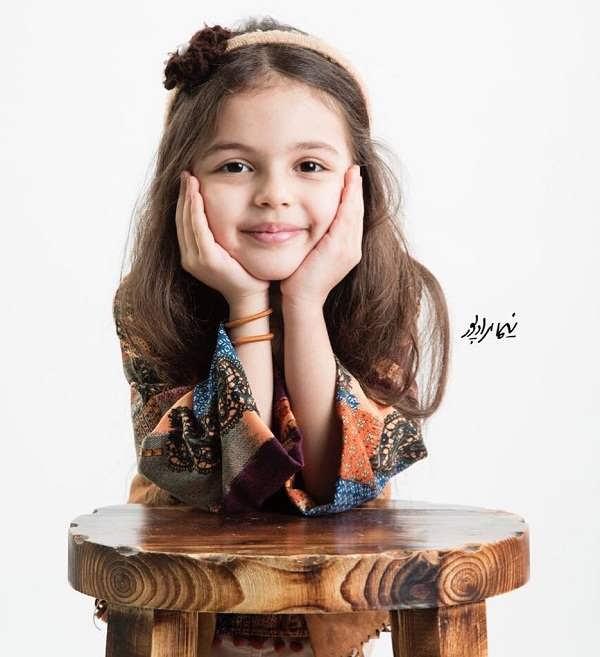 عکس دختر امیررضا دلاوری
