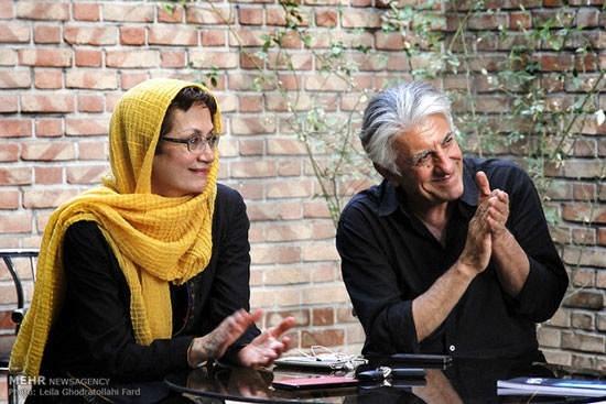 عکس رضا کیانیان و همسرش هایده قراچه داغی