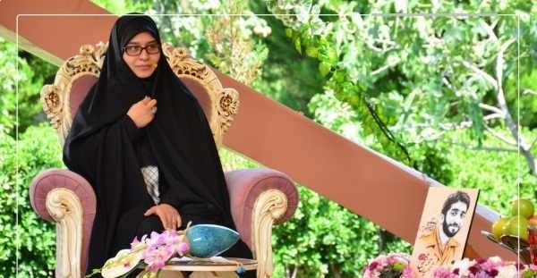 عکس زهرا عباسی همسر شهید حججی