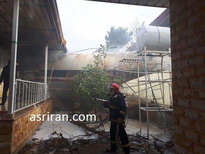 عکس سقوط هواپیما امروز