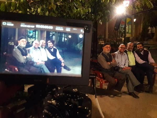 عکس سلمان فرخنده در پشت صحنه سریال بچه مهندس