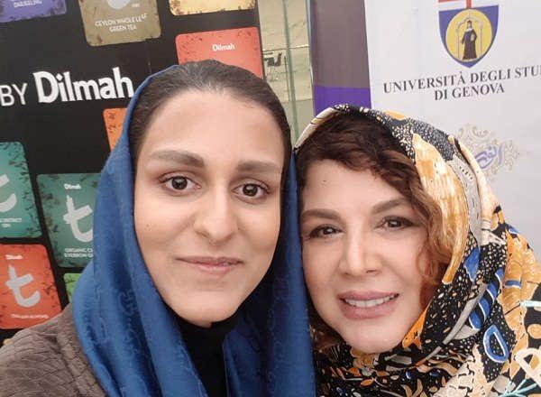 عکس شهره سلطانی و شهرزاد مدیری دختر مهران مدیری