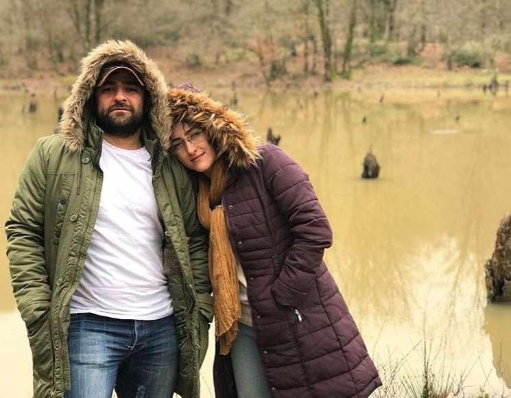 عکس علی عامل هاشمی و همسرش پگاه ترکی