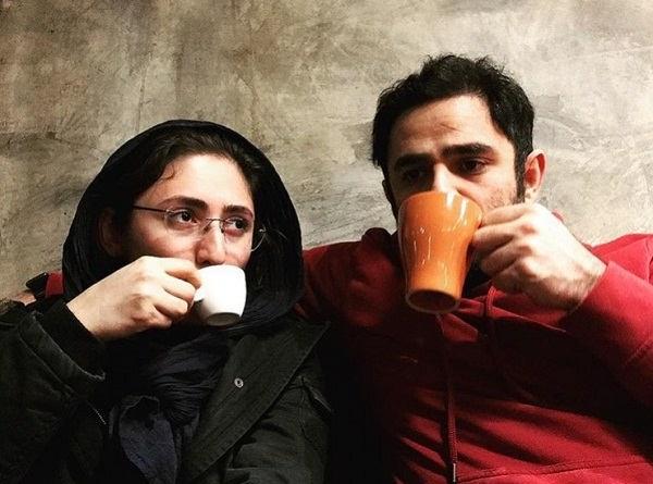 عکس علی عامل هاشمی و همسرش پگاه ترکی۲