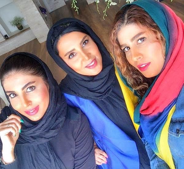 عکس لیلا بلوکات و خواهرانش