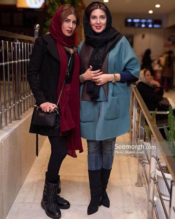 عکس لیلا بلوکات و خواهرش