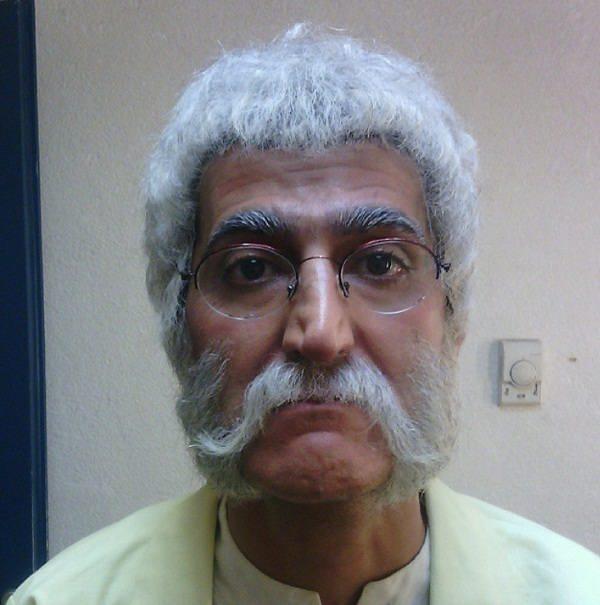 عکس محمد صادق ملک در نقش پدر ژپتو