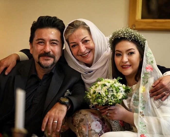 عکس مراسم ازدواج باران خوش اندام و امیرحسین صدیق