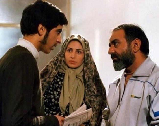 عکس نسرین نکیسا در کنار پرویز پرستویی در آژانس شیشه ای