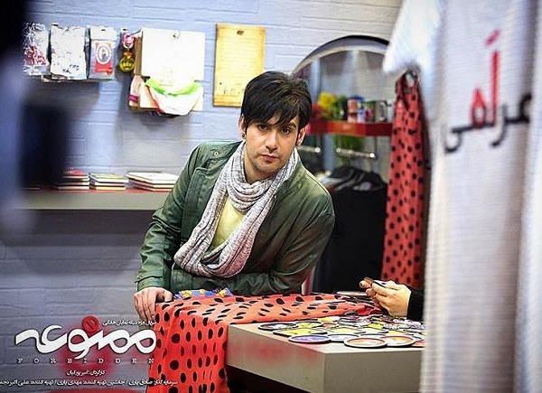 عکس نیما شعبان نژاد بازیگر نقش خلیل در ممنوعه