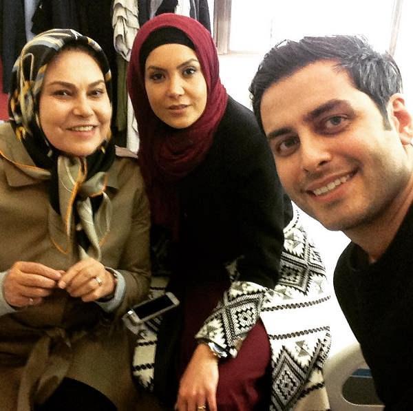 عکس های بازیگر نقش محمد علی در سریال آنام
