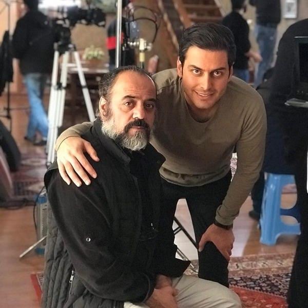 عکس های بازیگر نقش محمد علی در سریال آنام۲