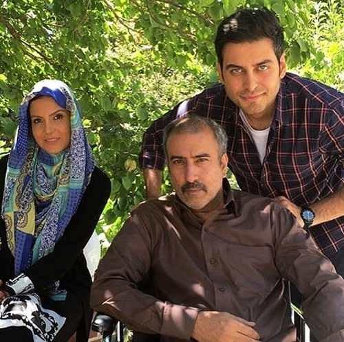 عکس های بازیگر نقش محمد علی در سریال آنام۳