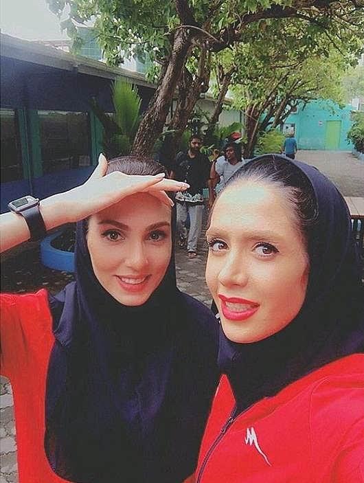 عکس های فرنوش شیخی همسر کاوه رضایی۳