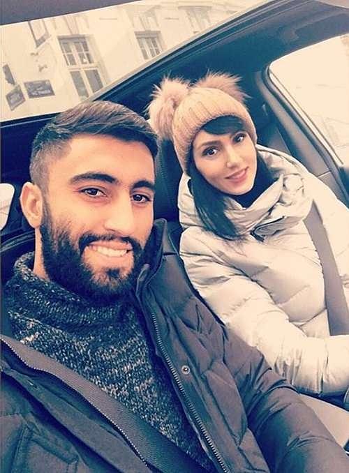 عکس های فرنوش شیخی و همسرش کاوه رضایی