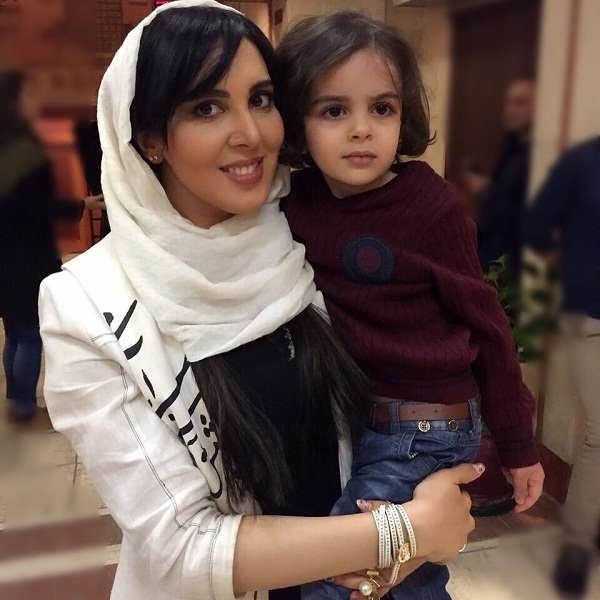 عکس های لیلا بلوکات و خواهرزاده اش۲