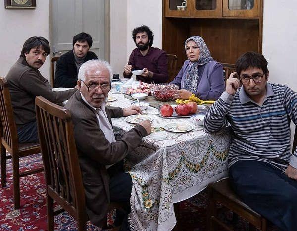 عکس های ناصر سجادی حسینی در سریال لحظه گرگ و میش