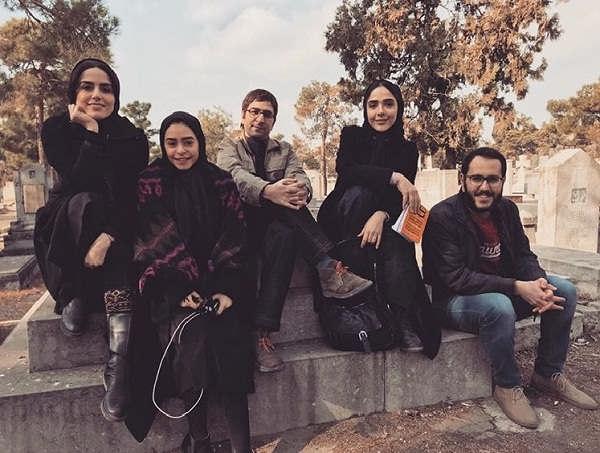 عکس های ناصر سجادی حسینی در سریال لحظه گرگ و میش۳