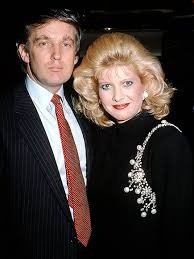 عکس همسر اول دونالد ترامپ در کنار او