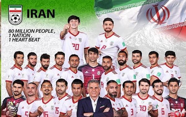 عکس پروفایل قهرمانی تیم ملی فوتبال ایران