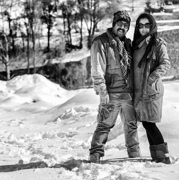 عکس پسر و عروس فرید سجادی حسینی