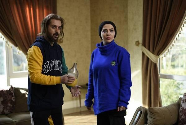 لیلا اوتادی و احمد مهران فر در فیلم کاتیوشا