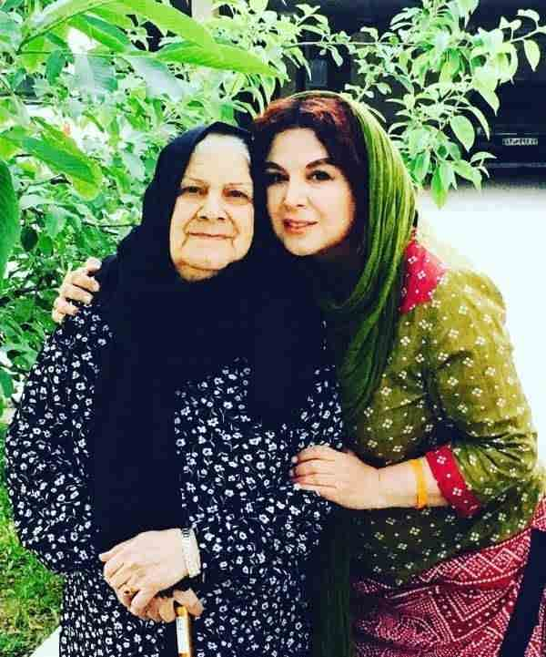 عکس شهره سلطانی و مادرش