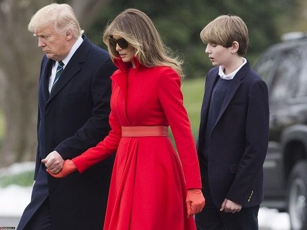 عکس ملانیا؛ همسر سوم ترامپ