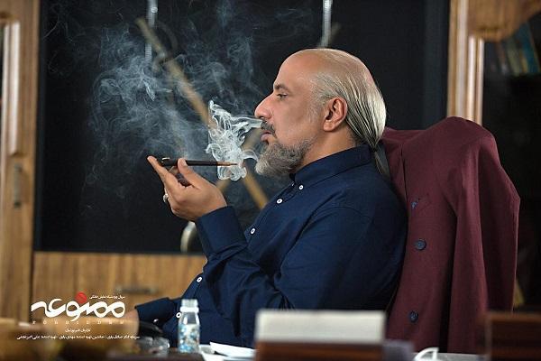 امیر جعفری بازیگر نقش اویس در سریال ممنوعه