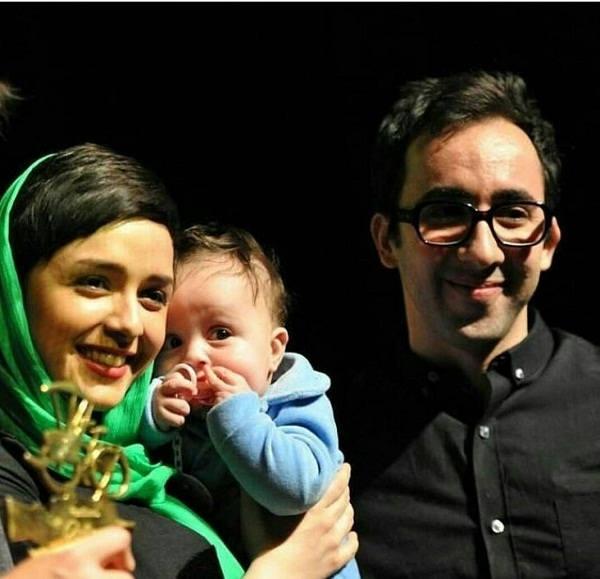 ترانه علیدوستی و همسرش علی منصوری