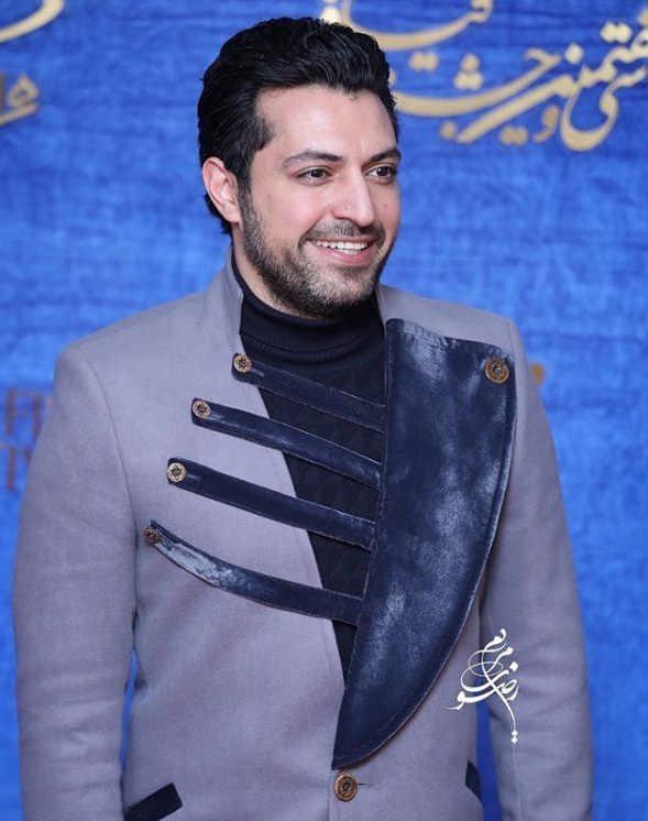 تیپ بازیگران در جشنواره فیلم فجر ۹۷ - اشکان خطیبی